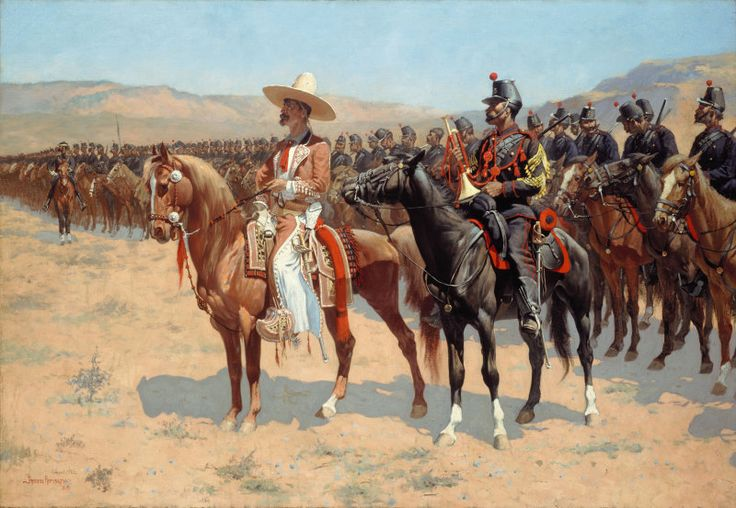 The Mexican Major, 1889