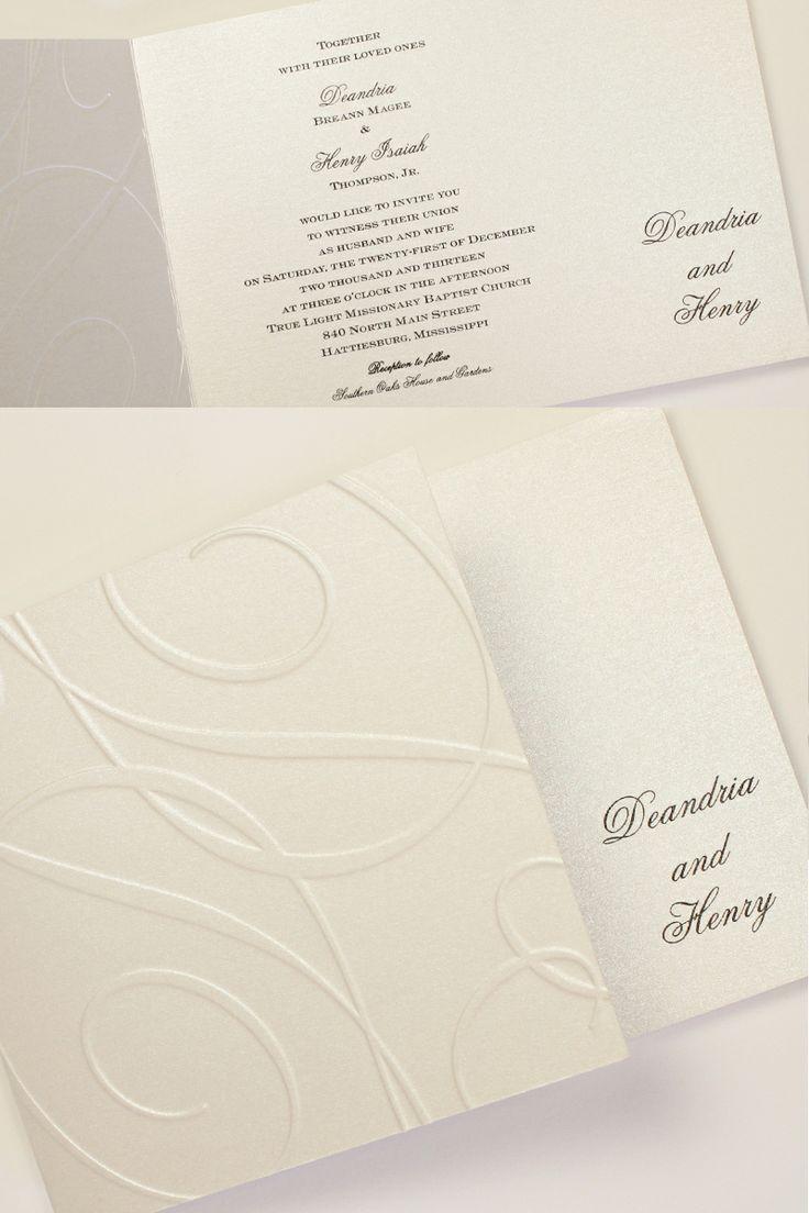 24 best Wedding Invitations images on Pinterest | Wedding stationery ...