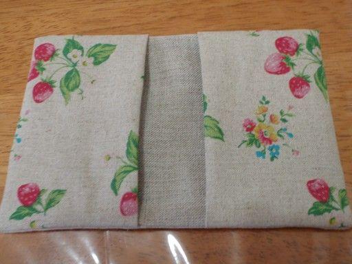 超カンタン!2本縫うだけ、カードケースの作り方の作り方 手順 10 ソーイング 編み物・手芸・ソーイング ハンドメイドカテゴリ ハンドメイド、手作り作品の作り方ならアトリエ
