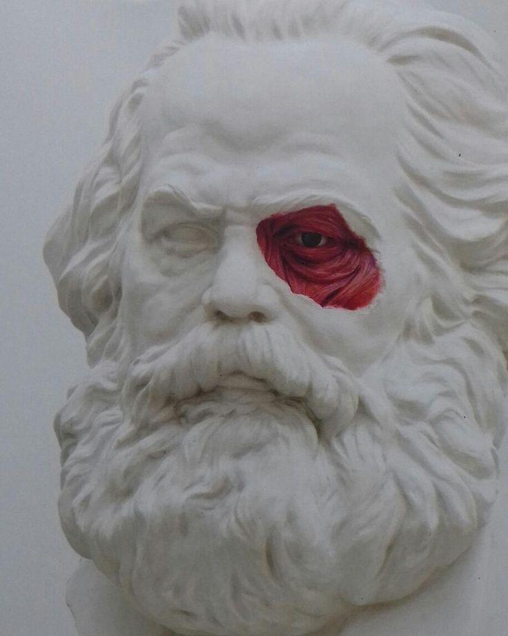 """""""Mi piace"""": 84, commenti: 3 - Virgile Legrand (@galerievirgilelegrand) su Instagram: """"Carlos Marx, Lázaro Saavedra #fiac #fiac2017 #sculpture #marx #art"""""""