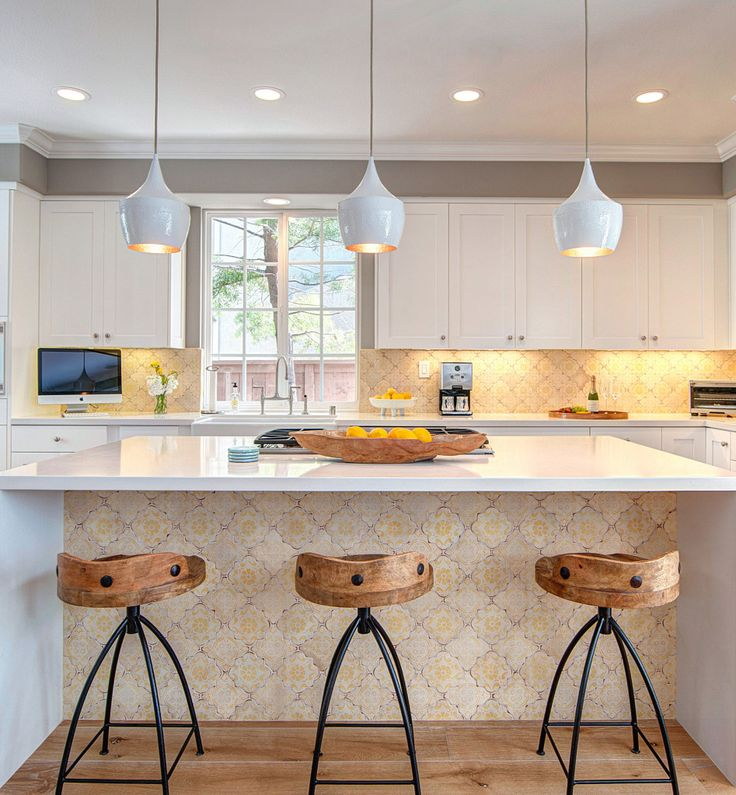 Mediterranean 26 Kitchen Backsplash By Tabarka Studio