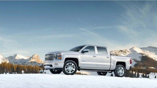 2015 Chevy Silverado High Country White Diamond Tricoat Photo