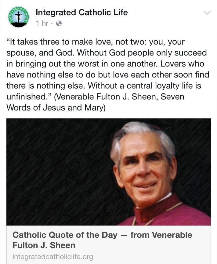 Fulton Sheen Quotes On Marriage: 3051 Best My Catholic Faith Images On Pinterest