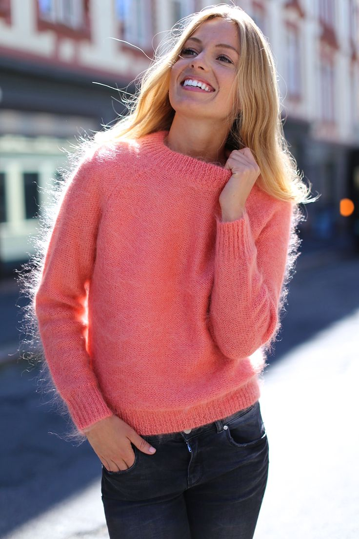 woman's mohair sweater