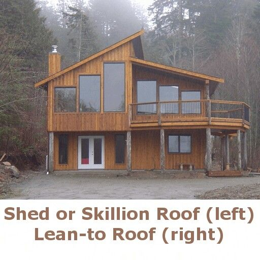 53 best shed roof cabin images on pinterest architecture for Shed roof cottage