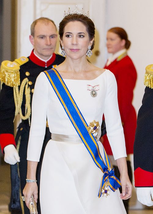 Crown Princess Mary's Honours:    Knight Grand Cross of the Order of the Netherlands Lion (Netherlands)
