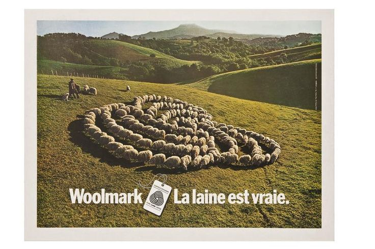Woolmark. La laine est vraie 1974