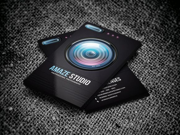 168 best photography business templates images on pinterest photographer lens business card fbccfo Images
