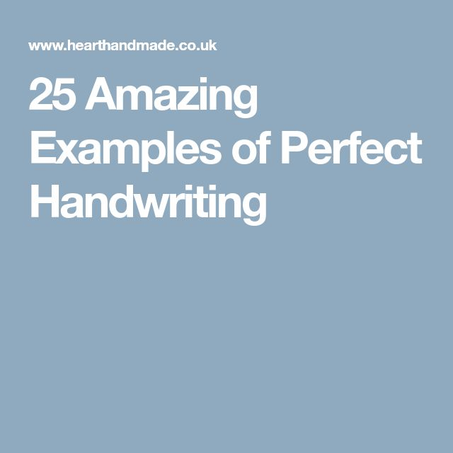 Best 25+ Handwriting examples ideas on Pinterest Handwritting - examples of