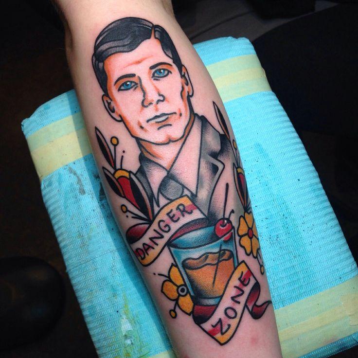 Archer tattoo.