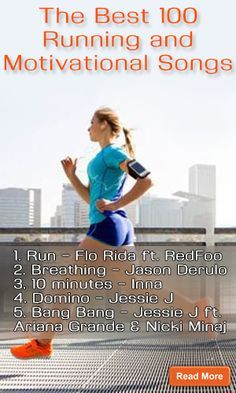 The Best 100 Running and Motivational Songs…