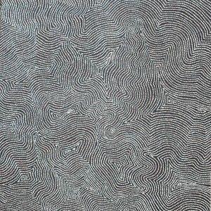 Australian Dreamtime Creations   Tali Tjuta-Big Mob Sandhills - Charlie Tjapangati - Acrylic on Belgium Linen - 172 cm x 122 cm - 2005