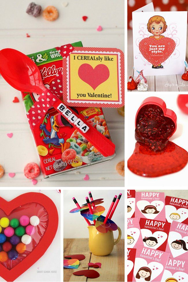 100 Class Valentines that Kids Can Make & Give!