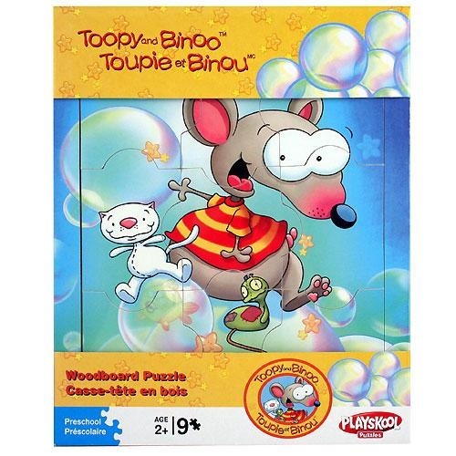 Toopy and Binoo Woodboard Puzzle [9 pieces] $9.99