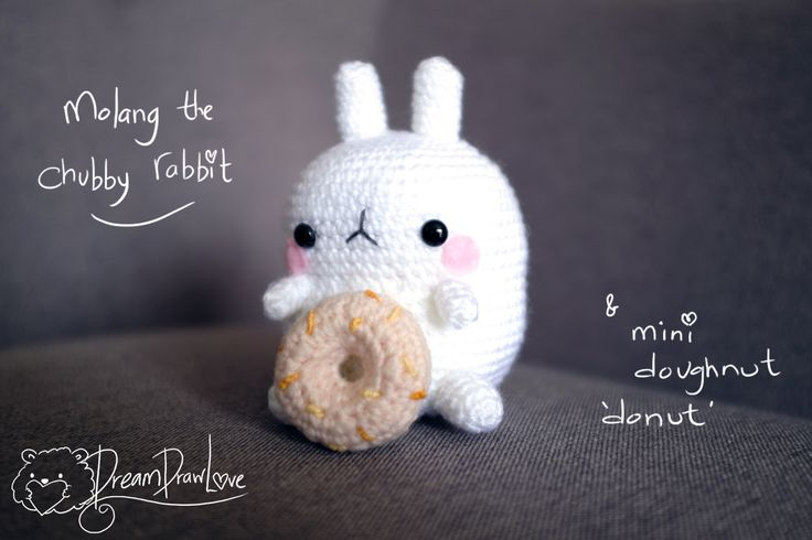 You can purchase Molang and his doughnut at shop - https://www.etsy.com/nz/shop/DreamDrawLove