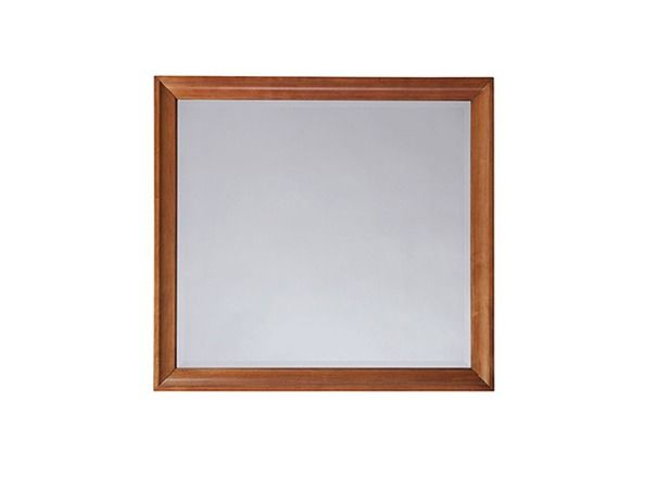 Elaine M - The versatile rectangular Landscape Dresser Mirror has clean lines with a picture frame effect and can be used as a landscape or vertical mirror.