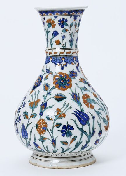 Vase      Place of origin:      Iznik, Turkey (probably, made)     Date:      ca. 1575 (made)     Artist/Maker:      Unknown (prod...