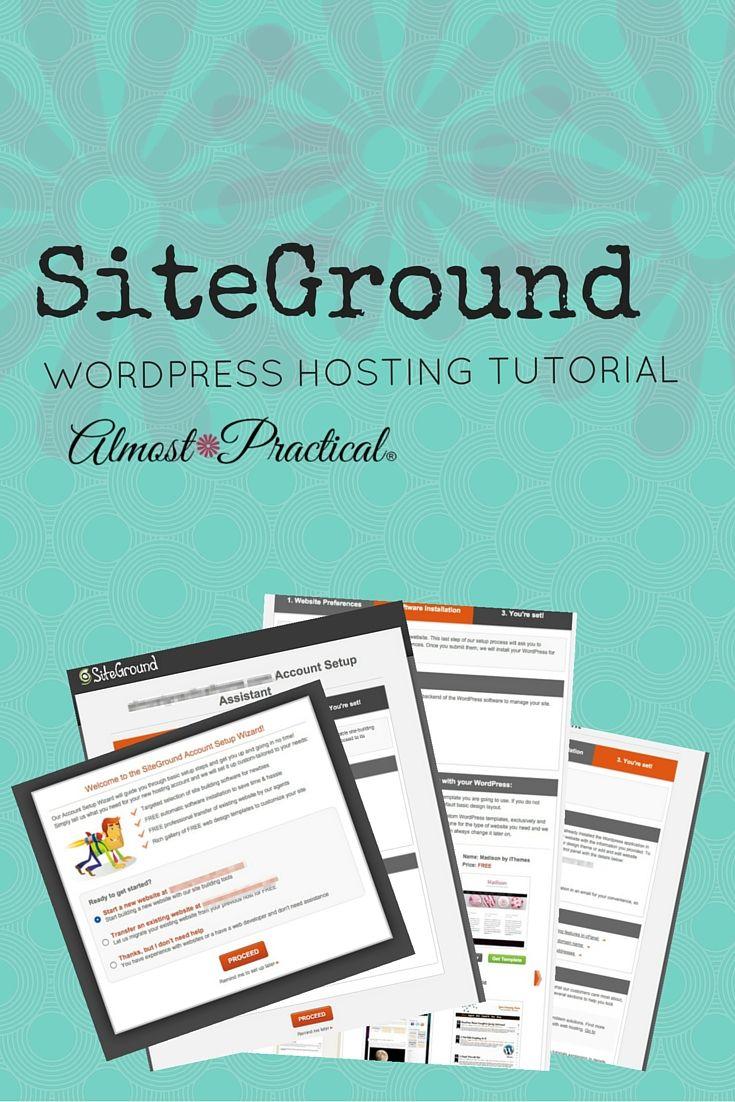 This SiteGround WordPress hosting tutorial walks you through setting up a WordPress website using SiteGround hosting.