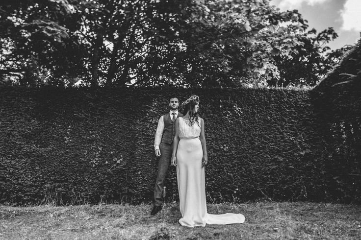 Wedding Photography at Hole Park in the Garden of England.   Alternative Bridal Portraits   Bohemian English Wedding  #rustedrose