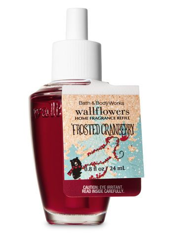 Frosted Cranberry Wallflowers Fragrance Refill Bath