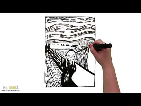 "Download ""The Scream"" HD Screensaver - 321 FastDraw - Whiteboard Animation - YouTube"