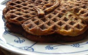 Kruidige Pompoen Wafels - Kokosmeel - Eet Goed Voel Je Goed