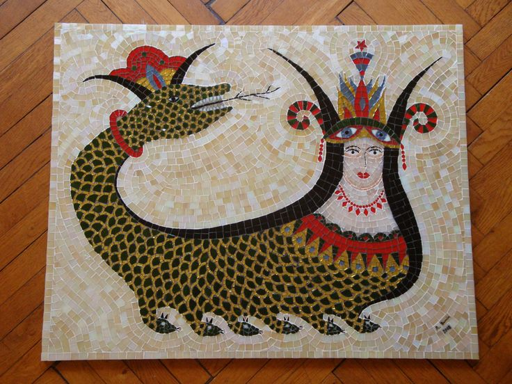 https://flic.kr/p/595YqY | Şahmaran 22 | Şahmaran mosaic. Finished. 2008.