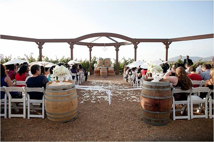 Elegant Wilson Creek Winery Wedding From Janelle Marina Photography Winery Weddings Socal Wedding Venues Wedding Southern California