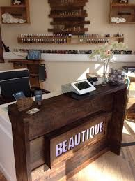 Image result for rustic upcycled hair salon