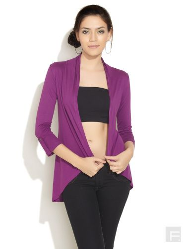RIOT // Front Open Waterfall Shrug