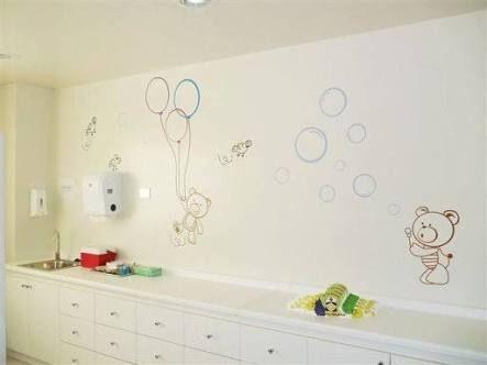 Resultado de imagem para consultorio pediatrico decoracion