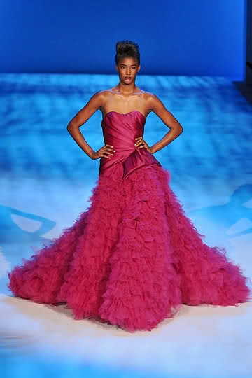 Christian Siriano: Fashion Weeks, Marvel Magenta, Fashion Types, Clothing Accessories, Bridesmaid Gowns Dresses, Christian Siriano, Fashion Follow, Fashion Aka, I D Wear