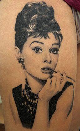 Audrey #inked #ink #tattoo #tattoos #tats #inkedmag #inkedmagazine