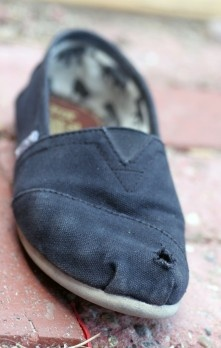 How to fix my Toms! YAY!!!!!!