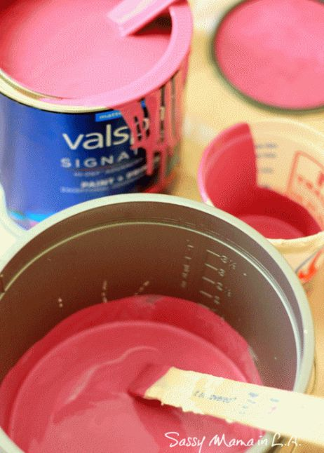 Como hacer chalk paint o pintura a la tiza en casa 4
