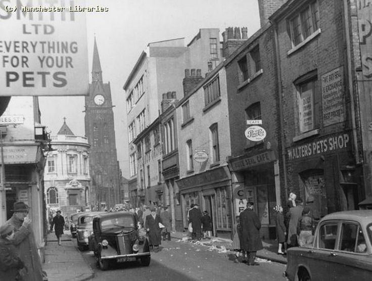Tib Street Manchester 1958
