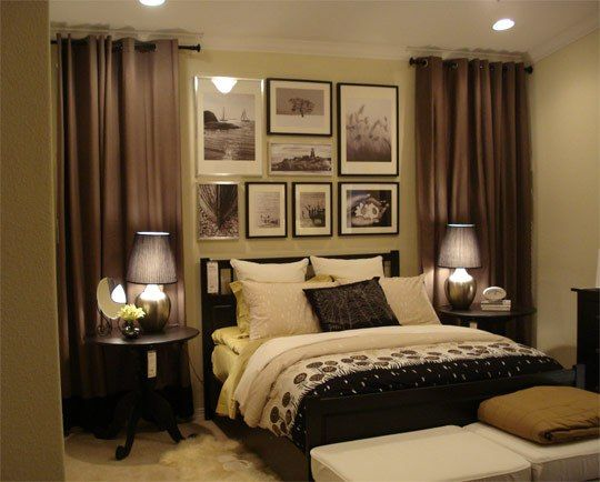 ideas to decorate a room with a low ceiling to make it look higher and bigger - Ways To Decorate A Bedroom