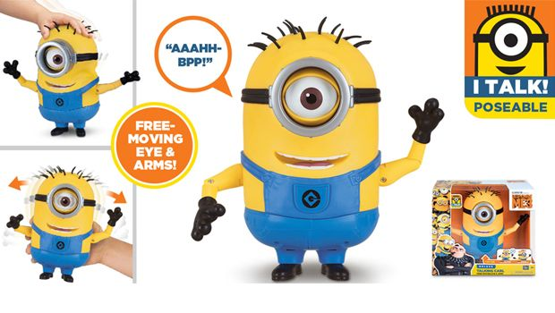 TALKING MINION ACTION FIGURE TALKING CARL