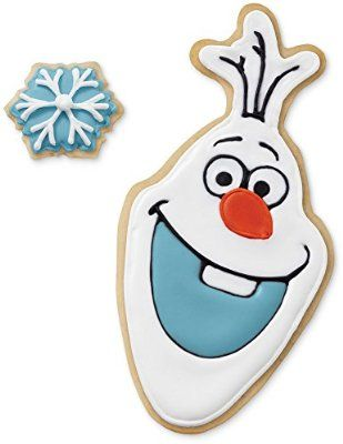 Wilton Disney Frozen 2-Piece Olaf Cookie Cutter Set