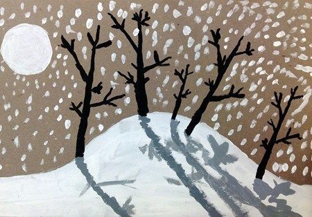 """Winter Landscape"" by Eddie387 (Art ID #21837192) from Barrington Road Elementary School, grade 4"