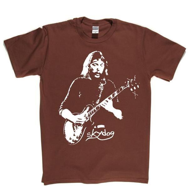 Eric Clapton Rock Blues Guitarist Black and White Men/'s T-Shirt Size S to 2XL