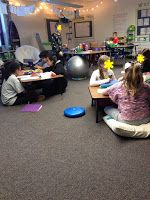 Leadership in 5th Grade: Flexible Seating: All of our Packages Came!