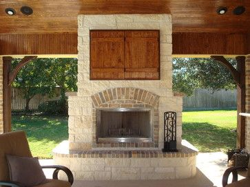 Outdoor Tv Design Ideas, Pictures, Remodel, and Decor - page 3