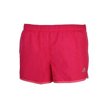 Womens Sports Clothing & Sportswear - Womens Sports Apparel - Rebel - adidas Womens Marathon Plain Short