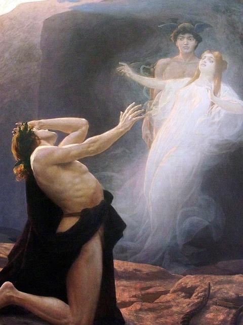 Eduard Kasparides, Orphée et Eurydice
