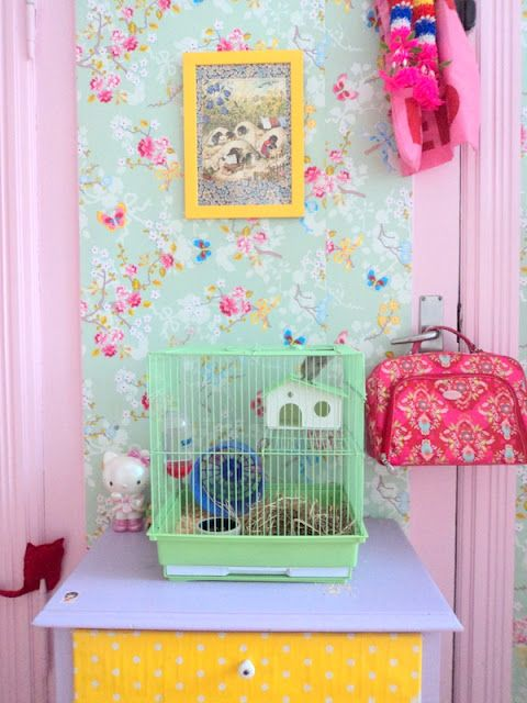 Pip Tapete Cherry Blossom : Pink and Mint
