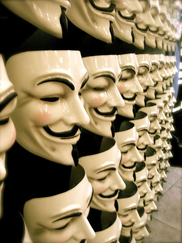I should always put on a smile :] --: Anonymous Mask, Face, Vendetta Mask, Stuff, Revolution, Masks, Movie, Guy Fawkes