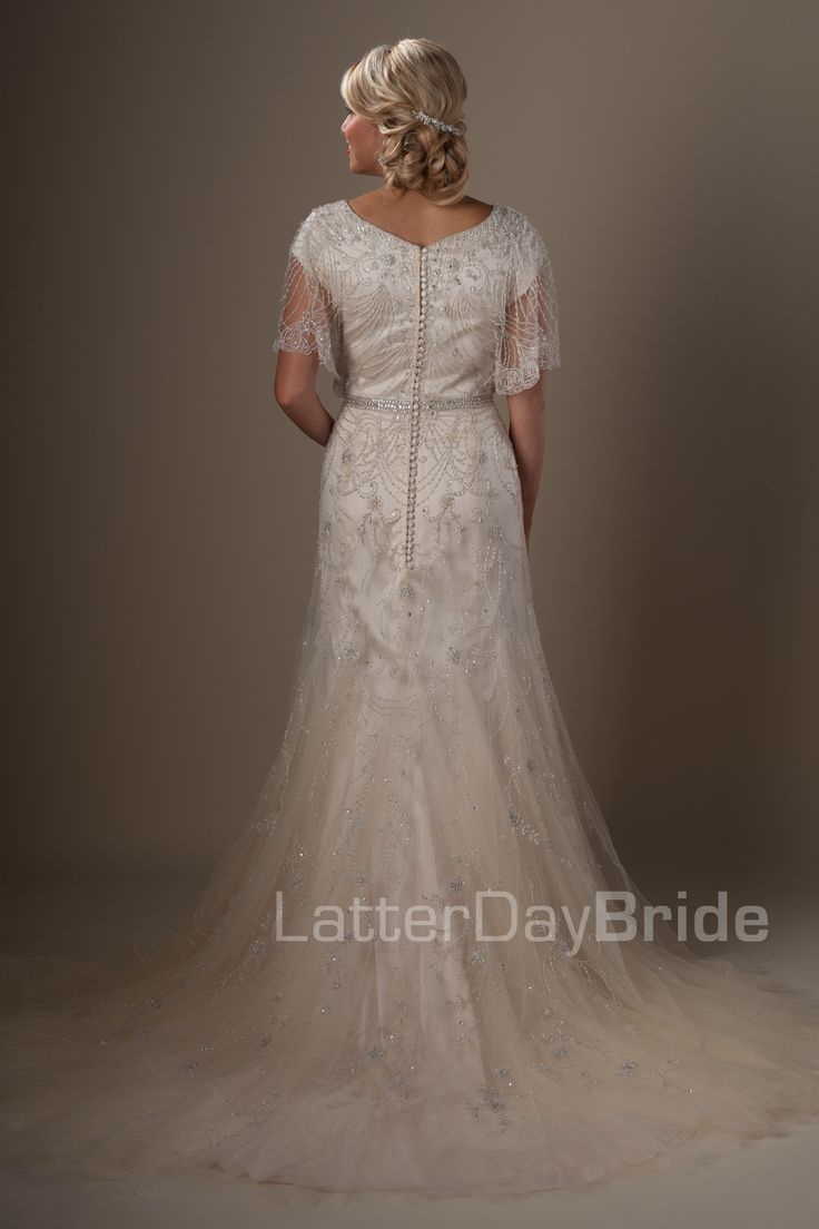 Modest Wedding Dresses : Penelope. Latter Day Bride, Gateway Bridal & Prom