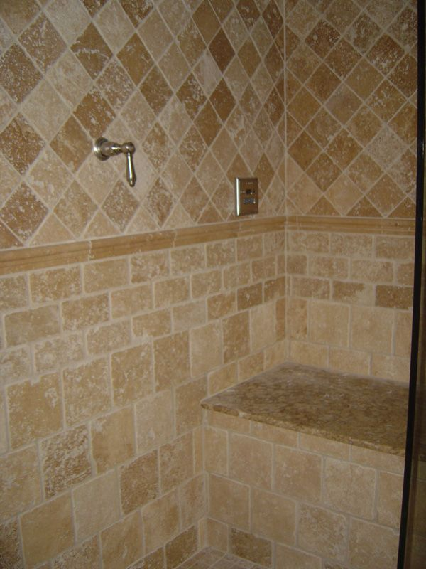 17 best images about bathroom ideas on pinterest shower for Ceramic tile patterns for bathroom floors