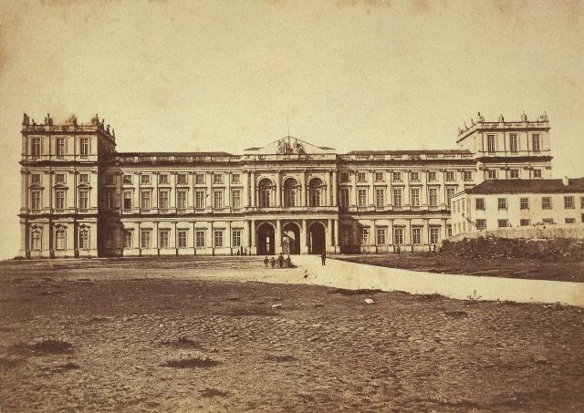 Palácio da Ajuda em 1910